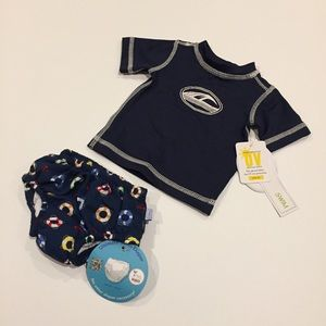 Other - NEW Newborn Swim Top and Swim Diaper